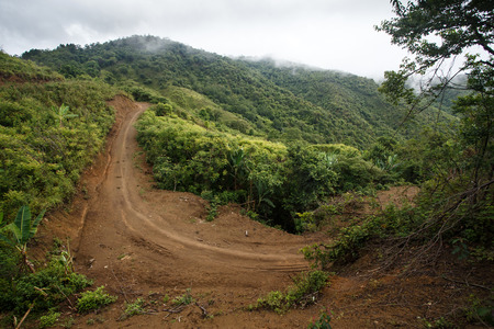 western state: Road through Chin State Mountain Region, Western Myanmar (Burma)