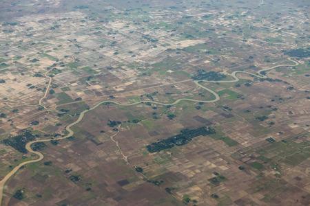 third eye: Above Yangon (Rangoon) Myanmar (Burma)