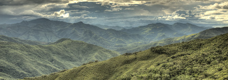 western state: Mountainous Region in Chin State of Western Myanmar (Burma)