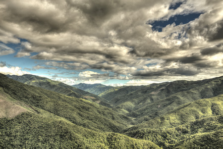 mountainous: Mountainous Region in Chin State of Western Myanmar (Burma)
