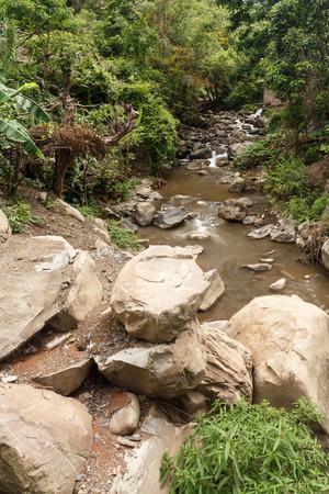 chin: Stream flowing in Chin State, Myanmar (Burma)