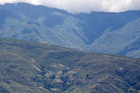 Falam Town , Chin State Mountain Region, Western Myanmar (Burma)