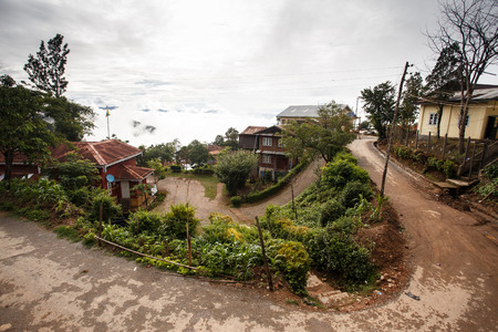 town centre: Falam Town Centre, Chin State, Western Myanmar (Burma)