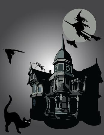 przerażający: Halloween Ilustracja