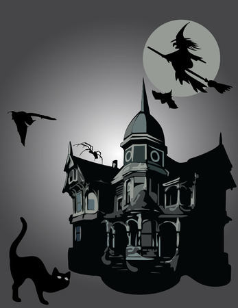 spooky eyes: Halloween Illustration
