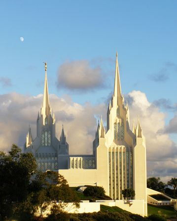 mormon: Mormon Temple    Stock Photo