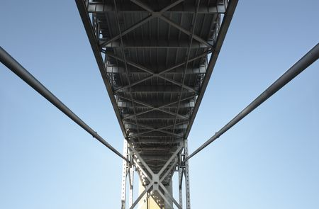 San Francisco iron and concrete Bay Bridge