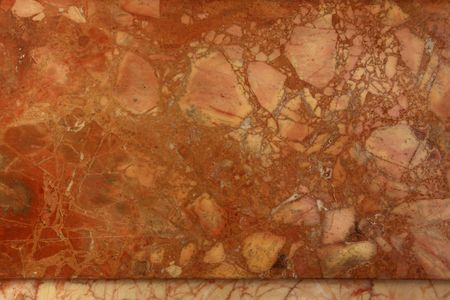 Red and beige marble pattern background texture