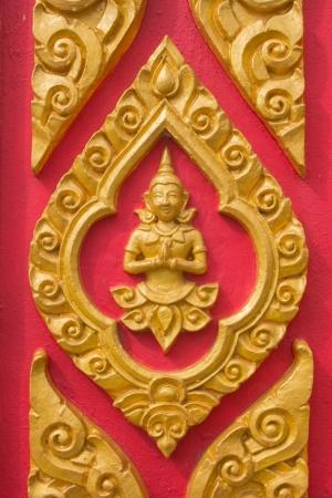 タイ天使彫刻