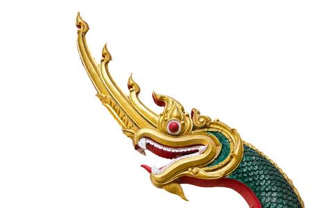 タイ芸術 Nagas 王