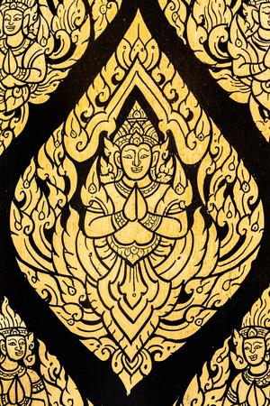 Rachanada 寺バンコク タイでタイのアート天使