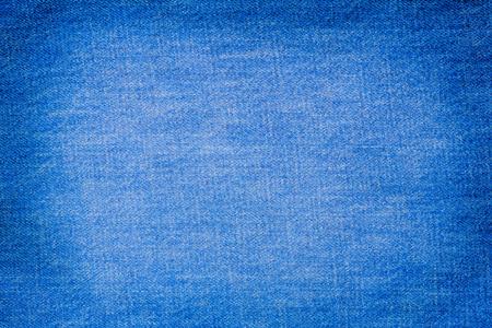 ブルー ジーンズの背景のテクスチャ 写真素材