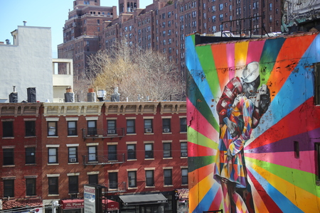 New York Street Art: High Line Park