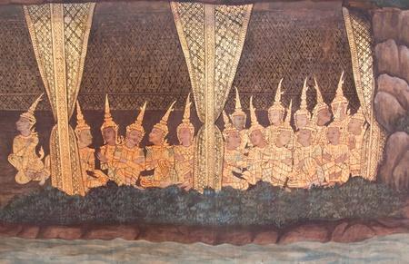 Thai Mural Art