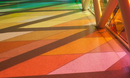 vibrance: Multi-color on the floor. Abstract