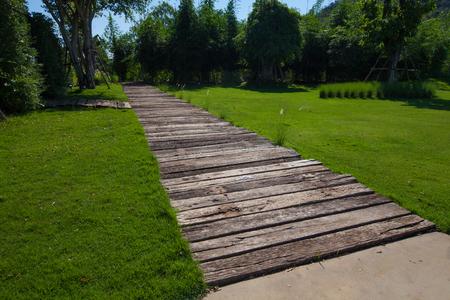 Nature pathway, use in multi purpose Stock Photo