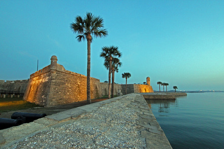 marcos: Castillo de San Marcos, St Augustine, Florida Stock Photo