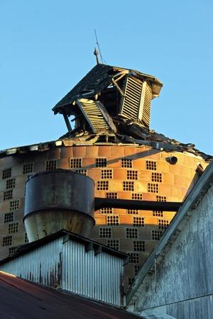 carmel: desmoronamiento silo en Carmel, Indiana