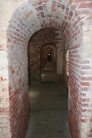Arches at Fort Macon, North Carolina