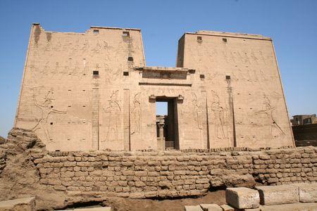 Edfu Temple of Horus [Edfu, Egypt, Arab States, Africa]