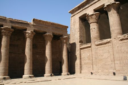 Edfu Temple of Horus (Centre)