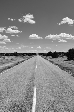 roswell: New Mexico Road and Sky