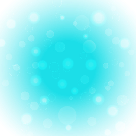 Abstract vector light blue gradient background with glow and radiance.