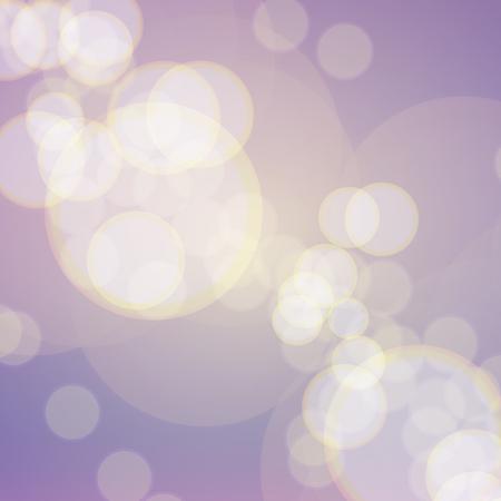 紫色の背景にソフト黄色ピンぼけ効果 写真素材