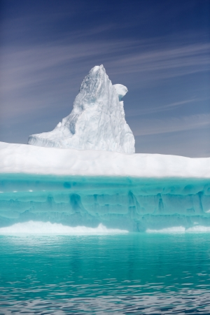 icefjord: Iceberg in Qooroq Icefjord in South Greenland