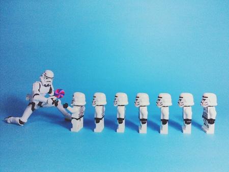 trooper: Trooper give