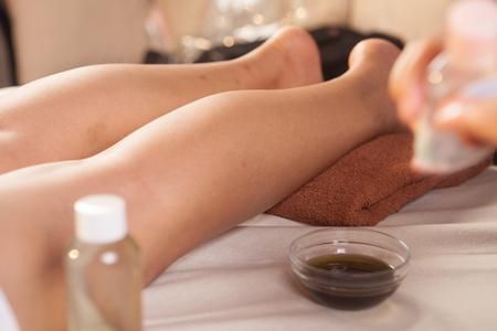 esthetic: foot massage