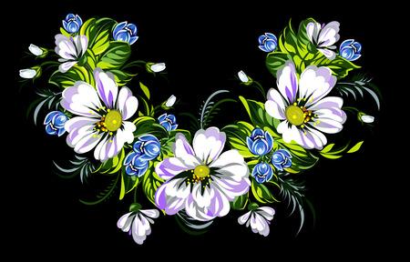 wild flowers: Bouquet of wild flowers