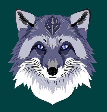 cruel zoo: Portrait of a fox