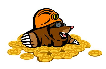 Mole, who found the bitcoins