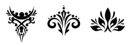 beautiful abstract monograms