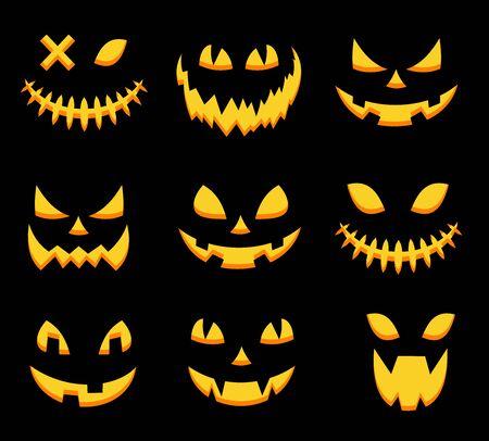 scary halloween pumpkin masks