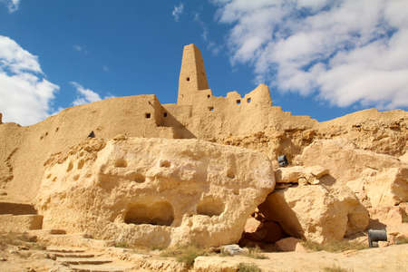 Famous ancient site of Siwa in Egypt