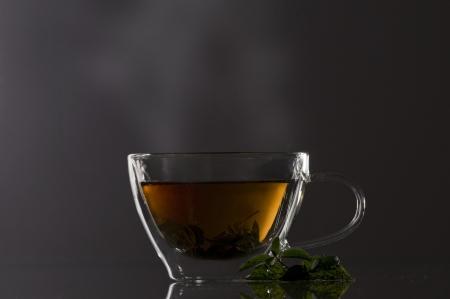 Teacup Standard-Bild