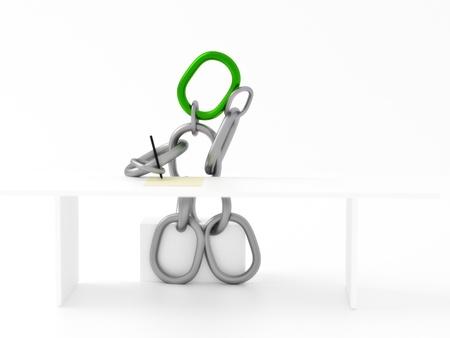 Männer-Chain-Konzept Standard-Bild - 14594196