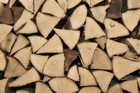 warmness: Firewood Stock Photo