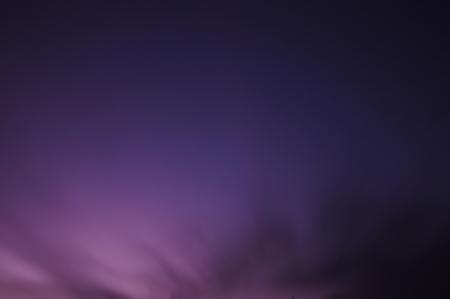 Evening sky - long time exposure