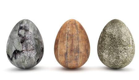 Sonder Easter Eggs II Standard-Bild - 27576962