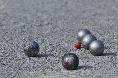 Spielen Boule-Kugeln 5 Standard-Bild - 28516614