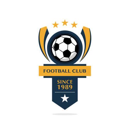 Soccer Football Badge, illustration