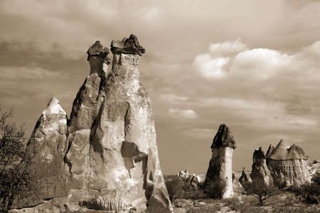 kappadokien: Landschaft, der nat�rlichen Gestein bildet Kappadokien, T�rkei Lizenzfreie Bilder