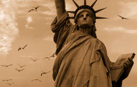 The Statue of Liberty in New York, USA Stock Photo - 3759986