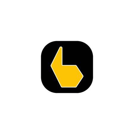 b design. Ilustracja
