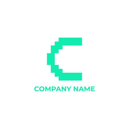 C  design. initial letter c for your company or business
