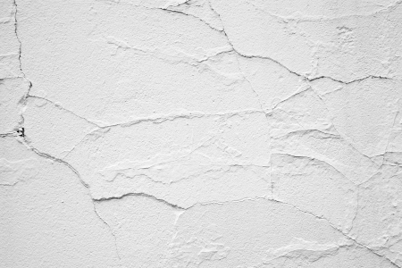 Craked white wall