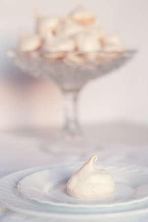 gentle meringue cookies for dessert homemade